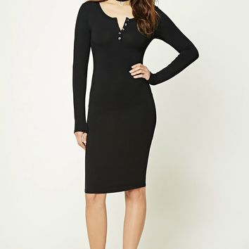 Henley Midi Dress