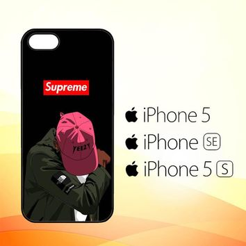 Yeezy Taught Me Supreme X5006  iPhone 5|5S|SE Case