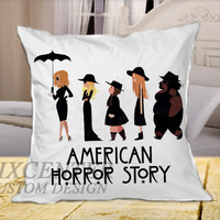 American Horror Story Coven on Square Pillow Cover