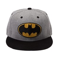 Batman Wool Snapback Cap