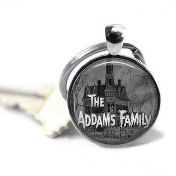 The Addams Family Keychain