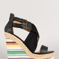 Summers in Paris Wedges