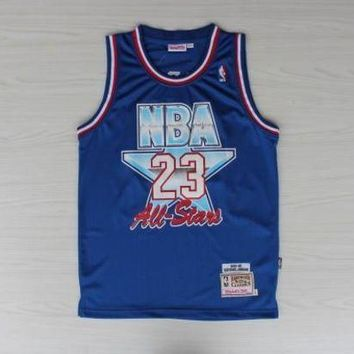 NBA Chicago Bulls #23 Michael Jordan 1992-93 All Star Swingman Jersey