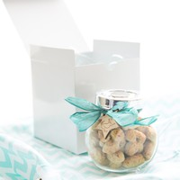 Dog Treat - Glass Cookie jar