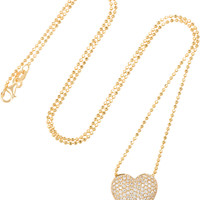 Anita Ko - Heart 18-karat gold diamond necklace