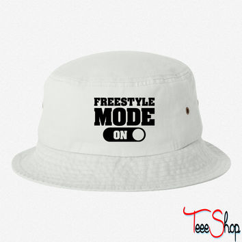 Freestyle Mode bucket hat