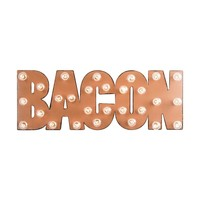 BACON Marquee Sign
