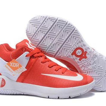 DCCKIJ2 Nike Men's Durant Zoom KD 5 Basketball Shoes Red
