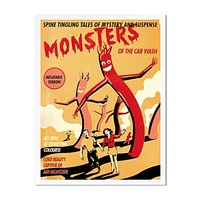 Monsters Of The Car Wash Art Print (Limited Edition)