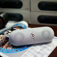 Beats Pill Rechargeable Bluetooth Stereo Speaker With Custom Sound Case B-A-GHSY-1