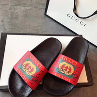 shosouvenir:Gucci: Casual Fashion Women Man Sandal Slipper Shoes