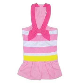 Pink Bow Cruise Dress
