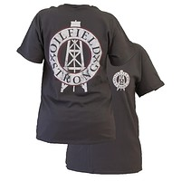 Southern Couture Oilfield Strong Oil Field Logo Unisex Bright T Shirt