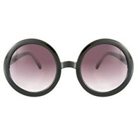 ASOS Black Round Sunglasses