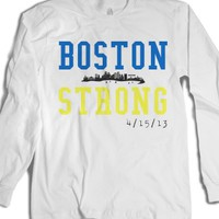 White T-Shirt | Boston Marathon
