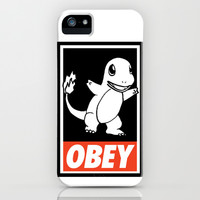 OBEY Charmander iPhone & iPod Case by Royal Bros Art | Society6