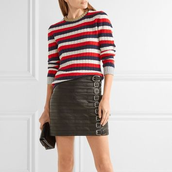 Sweater Winter Stripes Pullover Tops Jacket [22425534490]