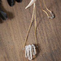 Icicle Necklace by barkdecor on Etsy