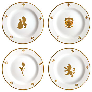 Be Our Guest Dessert Plate Set - Walt Disney World - 8'' | Disney Store