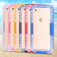 Phone cases for summer outdoor Sport Waterproof phone protecting For iphone 6 6s 7 7plus for diving use phone housing dust proof