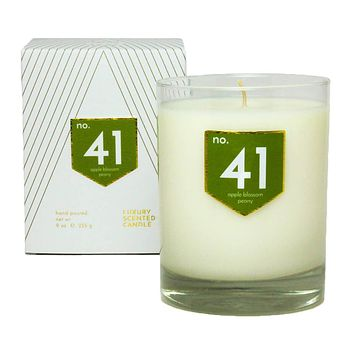 No. 41 Apple Peony Scented Soy Candle