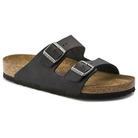 Arizona SFB Oiled Leather Black | shop online at BIRKENSTOCK