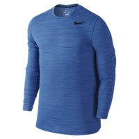 Nike Dri-FIT Touch Long-Sleeve Men's Training Shirt
