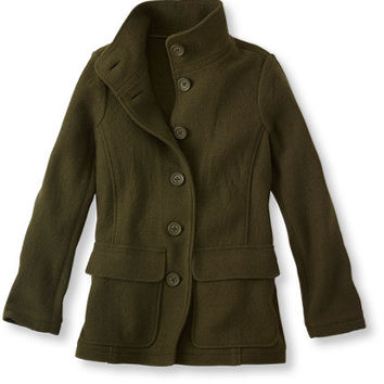Bean's Boiled Wool Jacket: Casual Jackets | Free Shipping at L.L.Bean