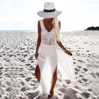 Ireland White Beach Dress