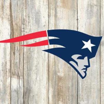 New England Patriots Svg, cut files, print files, clipart, vector, T-shirt design, football logo, circut, silhouette cameo