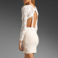 keepsake One Way Window Dress in Blush/Ivory from REVOLVEclothing.com