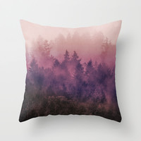 The Heart Of My Heart Throw Pillow by Tordis Kayma