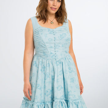 Disney Alice Through the Looking Glass Alice Print Dress
