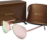 GUCCI Fashion Popular Sun Shades Eyeglasses Glasses Sunglasses H-A50-AJYJGYS Tagre™