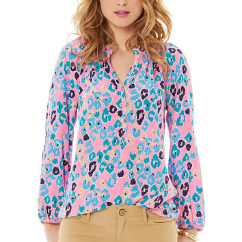 Lilly Pulitzer Elsa Top - Paws Off