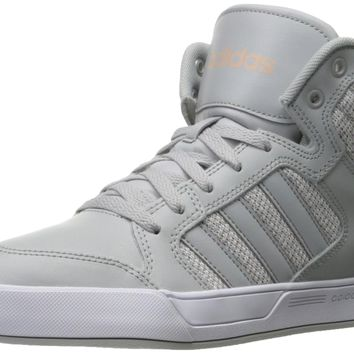 adidas NEO Women's Raleigh Mid W Casual Sneaker Clear Onix/Light Onix/White 8 B(M) US