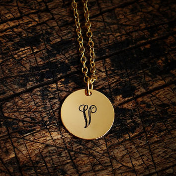 monogrammed initials pendants, handmade monogram initials, Personalized necklace for Mom, Jewelry, name stamped monogram necklace
