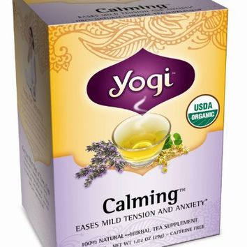 Yogi Teas Calming, 16 Count (Pack of 6)