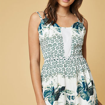 Somedays Lovin Emerald Oasis Romper at PacSun.com