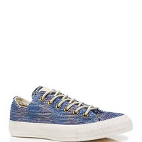 Converse Lace Up Sneakers - Basket Weave Low Top