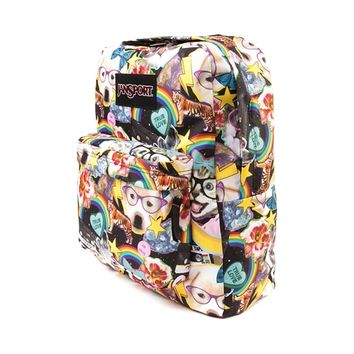 JanSport Superbreak Hair Ball Backpack, Multi, at Journeys Shoes