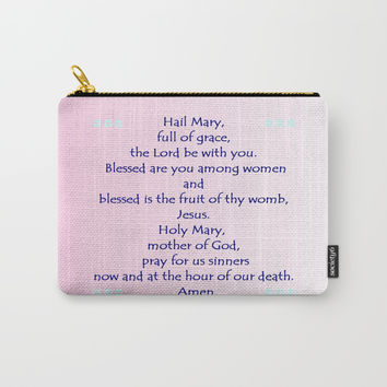 Hail Mary Carry-All Pouch by Zia
