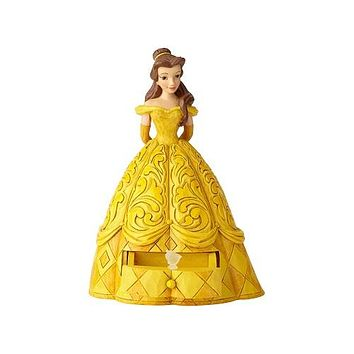 Disney Belle with Chip Charm by Jim Shore
