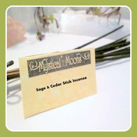 Sage & Cedar Stick Incense