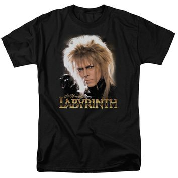 Labyrinth - Jareth Short Sleeve Adult 18/1 Shirt Officially Licensed T-Shirt
