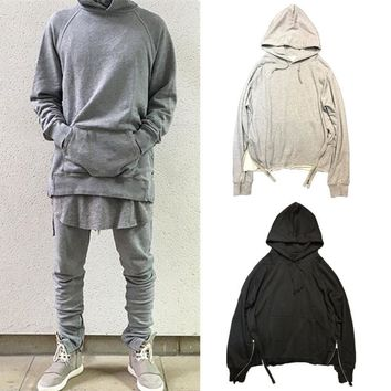 Fear Of God Hoodies Men Women 100% Cotton Winter Fearofgod FOG Hoodies Sweatshirts Zipper Pullover Fear Of God Hoodies