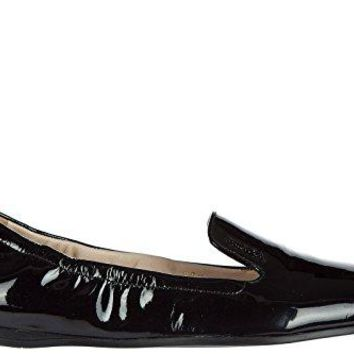 Prada Women's Leather Loafers Moccasins Black