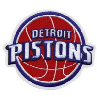 NBA Logo Patch - Detroit Pistons