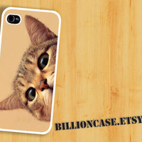 Curious Cat Case - iPhone 4 Case iPhone 4s Case iPhone 5 Case idea case Galaxy Case Unique case
