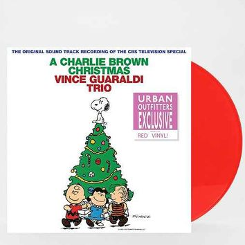 Vince Guaraldi - A Charlie Brown Christmas LP- Red One